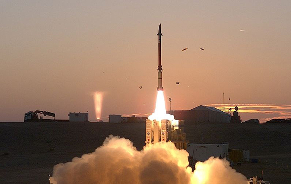 Israel's David's Sling system. Photo: AFP