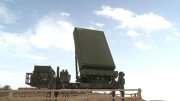 """מכ""""מ מתקדם של אלתא, המשמש להנחיית הטילים"""
