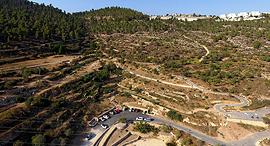 רכס לבן, הרי ירושלים, צילום: דב גרינבלט - החברה להגנת הטבע