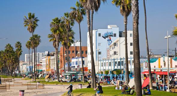 וניס לוס אנג'לס קליפורניה Airbnb, צילום: גטי