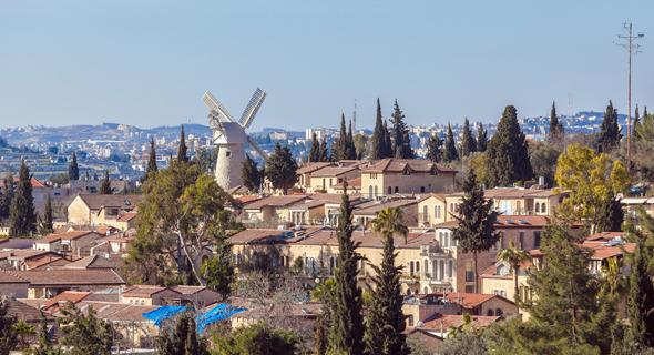 שכונת משכנות שאננים ירושלים Airbnb, צילום: שאטרסטוק