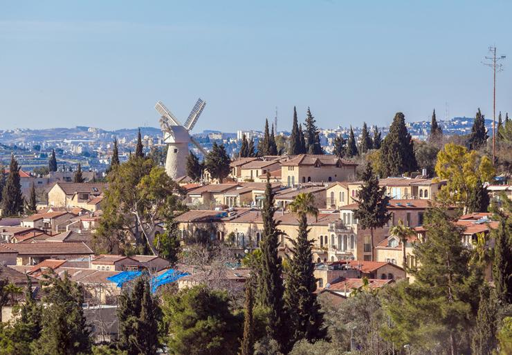 משכנות שאננים, ירושלים , צילום: שאטרסטוק