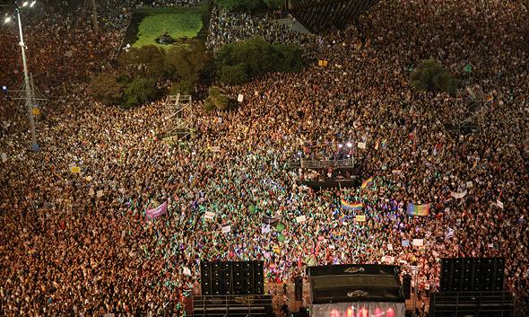 """מחאת הלהט""""ב ביולי השנה בכיכר רבין"""