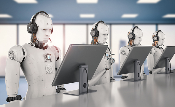 Is AI going to replace humans? Photo: Shutterstock