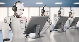 בינה מלאכותית רובוטים AI מרכז שירות, צילום: שאטרסטוק