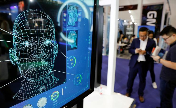 הדגמה של זיהוי פנים בתערוכה בבייג'ינג. שוק של 6.4 מיליארד דולר, שגדל ב־12% בשנה