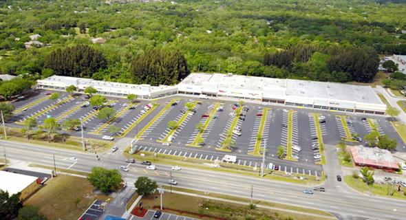 מרכז מסחרי בפלורידה    , צילום: Aerial photography