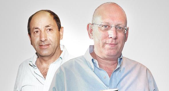 מימין: מייסד קופיקס אבי כץ ובעלי שיווק השקמה רמי לוי, צילומים: אוראל כהן