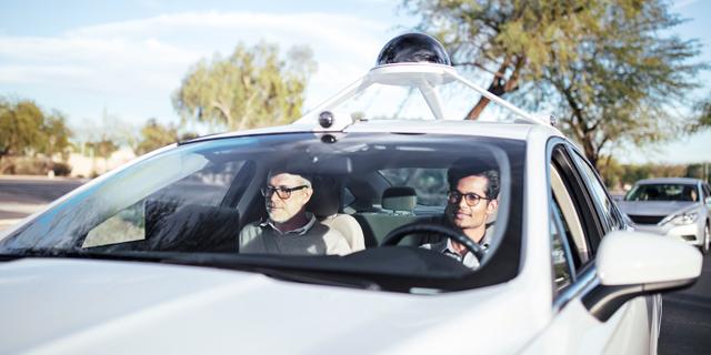 רכב אוטונומי, צילום: Intel Corporation