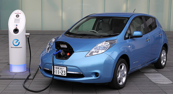 An electric car (illustration). Photo: Nissan