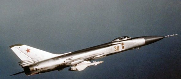 מטוס יירוט מדגם סוחוי 15