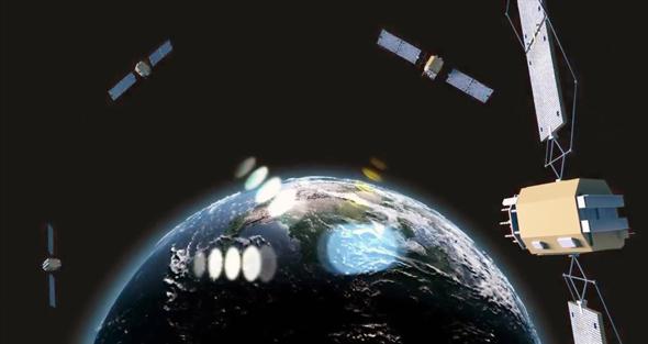 רשת לווייני ניווט מודרנית