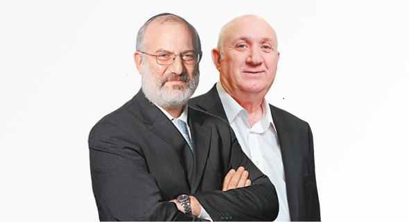 """מנכ""""ל שופרסל איציק אברכהן ו בעל השליטה בדסק""""ש אדוארדו אלשטיין, צילומים: אוראל כהן, עמית שעל"""
