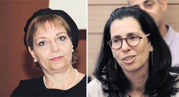 ה מפקחת על ה ביטוח דורית סלינגר ו שופטת העליון יעל וילנר, צילומים: יואב דודקביץ, יאיר שגיא