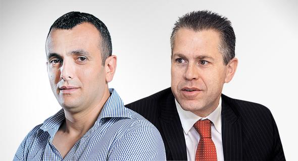 "גלעד ארדן ו שי באב""ד, צילום: אוראל כהן"