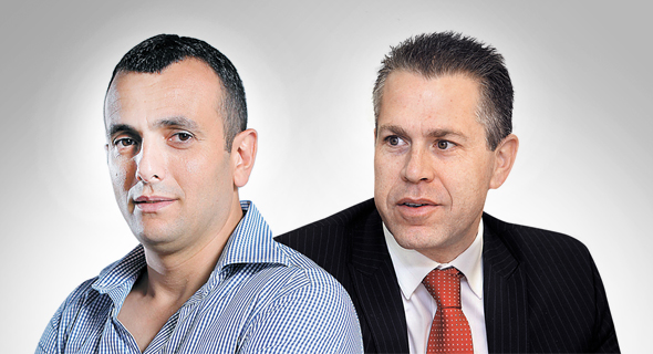 """גלעד ארדן ו שי באב""""ד חדש, צילום: אוראל כהן"""
