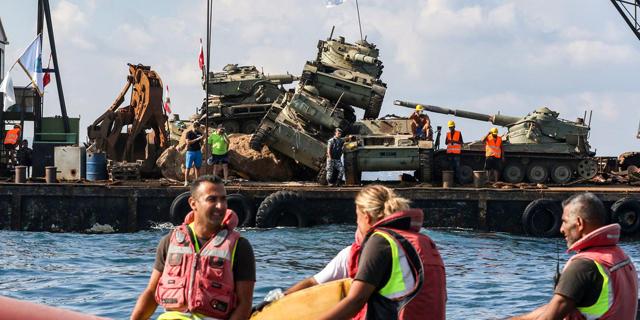 הטנקים בלבנון שמצילים את חיות הים – והמחאה נגד ישראל