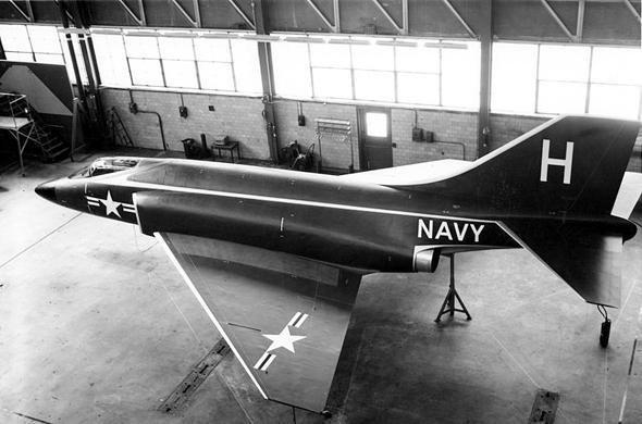 מוק-אפ של המטוס החדש