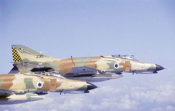 מטוסי פאנטום ישראליים