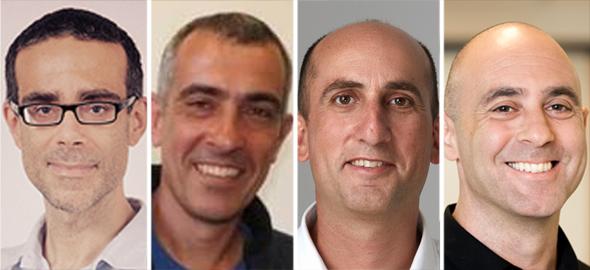 Bruno Fernandez-Ruiz (left), Raviv Melamed, Yoav Levi, Ben Volkow.