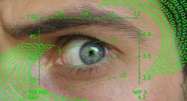 זיהוי עיניים זיהוי ביומטרי מעקב ריגול פריצה, צילום: ניצן סדן