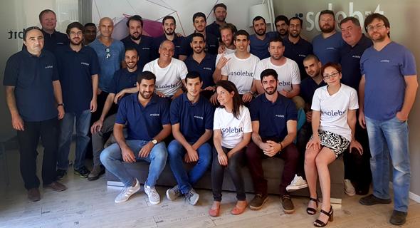 Solebit's team. Photo: PR