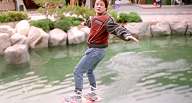מייקל ג'יי פוקס מרטי מקפליי בחזרה לעתיד 2 הוברורד מכירה פומבית, צילום: Universal