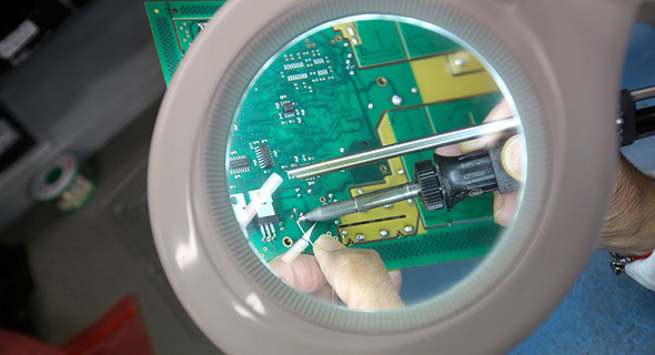 printed circuit board (illustration). Photo: Bloomberg