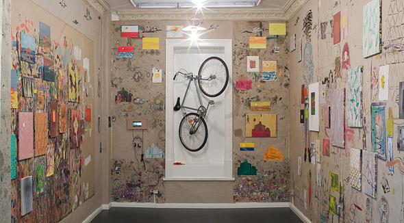 הסטודיו של האמן אולף קונמן בברלין