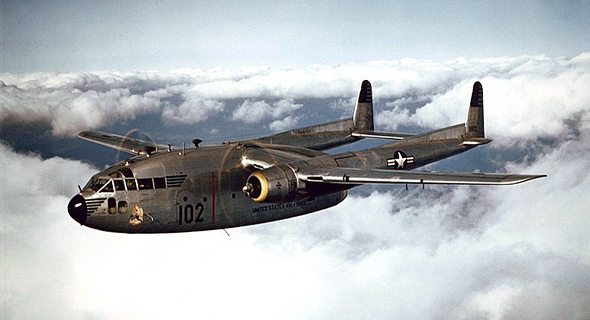 מטוס C119, צילום: Wikipedia