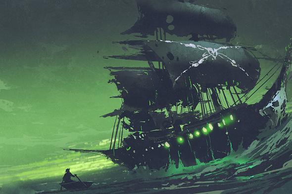 אמאל'ה, ספינת רפאים!