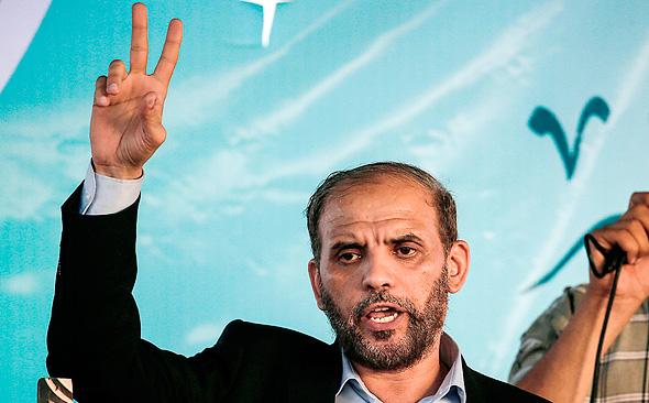 ממנהיגי חמאס חוסאם בדראן, צילום: איי אף פי