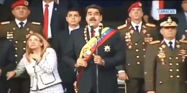 ניסיון התנקשות בנשיא ונצואלה בשידור חי: הנאום נקטע, חיילים ברחו