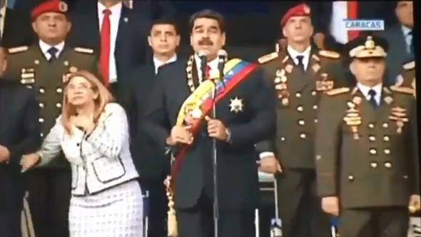 ניסיון ההתנקשות בנשיא ונצואלה ניקולס מדורו
