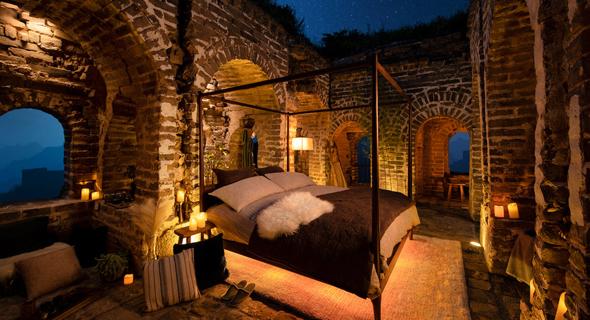 דירת נופש של Airbnb בחומה הסינית