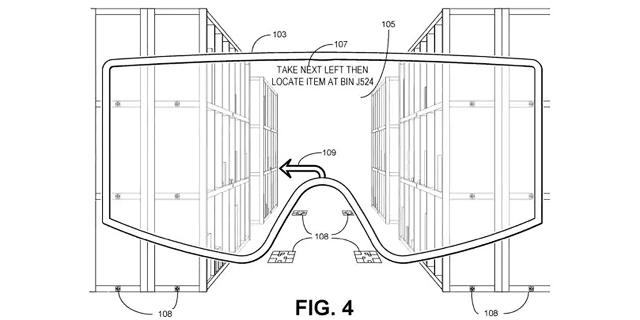 פטנט של אמזון: משקפי AR לריגול אחר הפועלים שלה