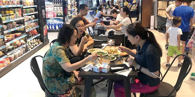 Visiting Alibaba's Hema Supermarket Store