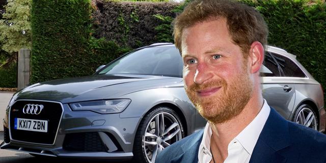 יד ראשונה מנסיך: האאודי של הארי מוצעת למכירה