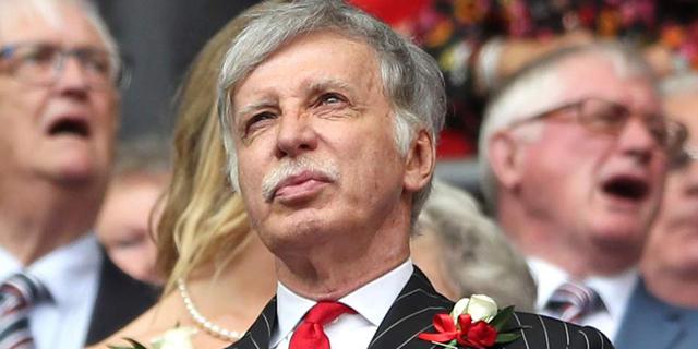 """סטן קרונקי רכש מניות ארסנל ב-550 מיליון ליש""""ט"""