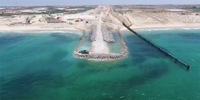 Israel Releases Footage of Gaza Sea Barrier