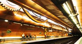 מטרו פריז תחבורה ציבורית, צילום: שאטרסטוק