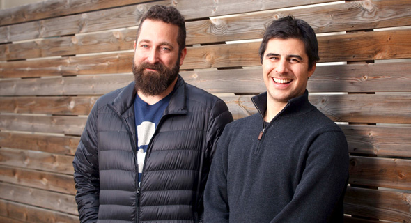 Dynamic Yield co-founders Omri Mendellevich (left) and Liad Agmon. Photo: Tamuz Rachman