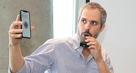 מייסד חברת MetaFlow דרור סידר תחרות פודטק 2018, צילום: אוראל כהן