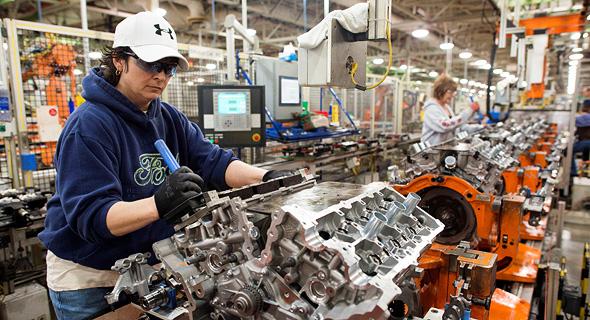 מפעל של פורד באוהיו, צילום: בלומברג