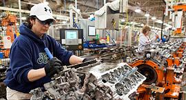 מפעל פורד באוהיו, צילום: בלומברג