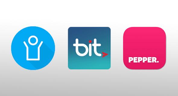 אפליקציות תשלומים פפר פיי, ביט ופייבוקס