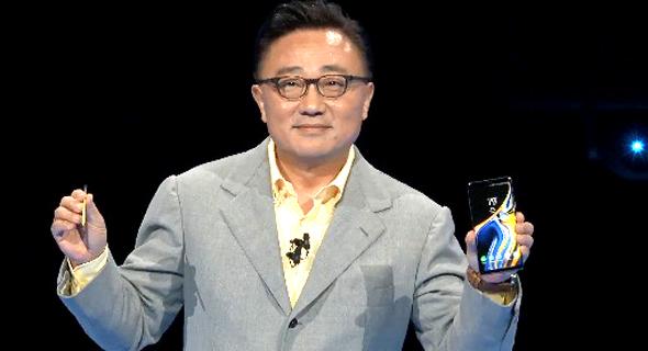 """די ג'יי קו, מנכ""""ל חטיבת המובייל של סמסונג"""