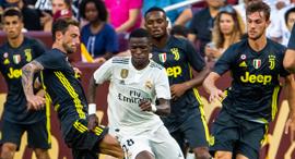 ויניסיוס מריאל מדריד נגד יובנטוס. 10 מקומות מפרידים בין הקבוצות בליגת הכסף, צילום: אי פי איי