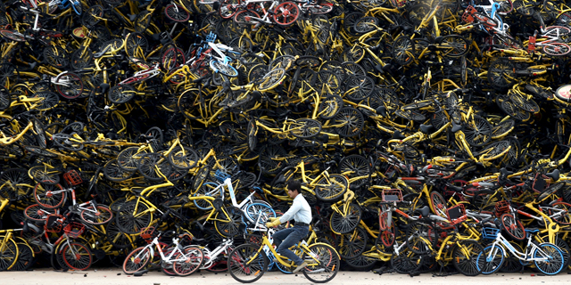מה קורה כאשר יש יותר מדי אופניים? סין כמשל