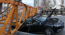 תאונת עבודה, צילום: שאול גולן